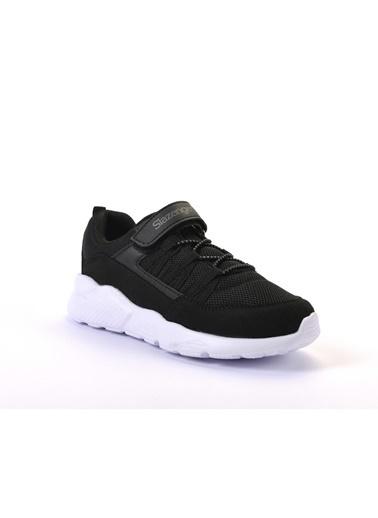 Slazenger Flover Erkek Çocuk Sneaker Ayakkabı Siyah